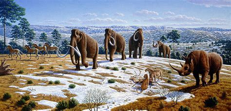 animal during great ice age 30 awesome artworks of extinct animals hongkiat