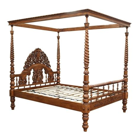 beds with posts ornate carved four poster bed akd furniture