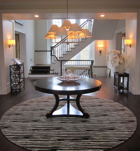 foyer table ideas splendid foyer pedestal table decorating ideas