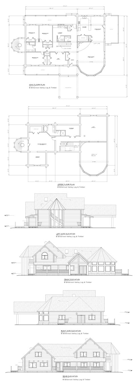 the bitteroot timber frame home floor plan blue ox log home floor plan montana custom log homes