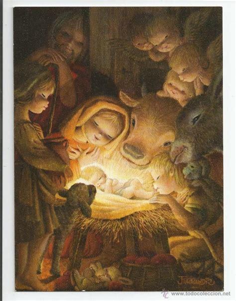 imagenes religiosas todocoleccion felicitaci 243 n navidad ferr 225 ndiz original 1968 17 x 12