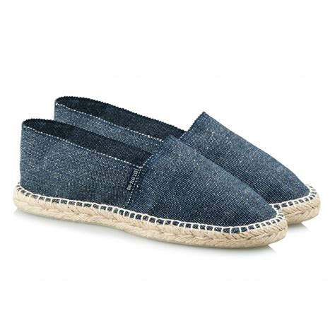 mens denim espadrilles