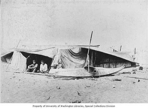 umiak boat umiak skin boat upside down inuit alaska 1906