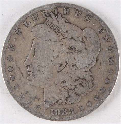 1883 silver dollar o sports memorabilia auction pristine auction
