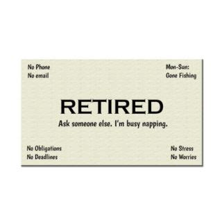 Retired Business Cards Templates by Retirement Gifts You Need To See Creative Gift Ideas And