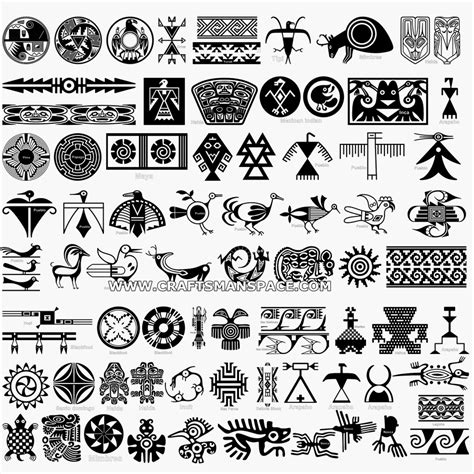 native indian tribal tattoos american stencil designs collection of