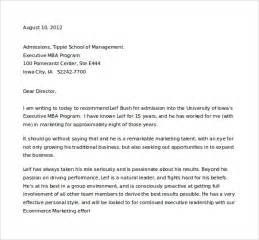 Letter Of Recommendation For Student 35 Download Free