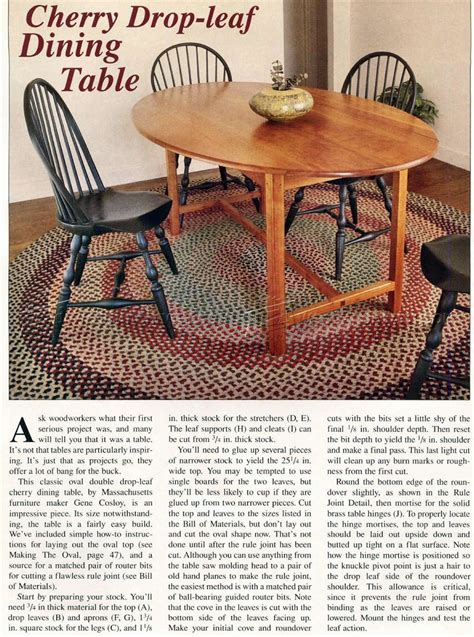 dining table with leaf plans drop leaf dining table plans woodarchivist