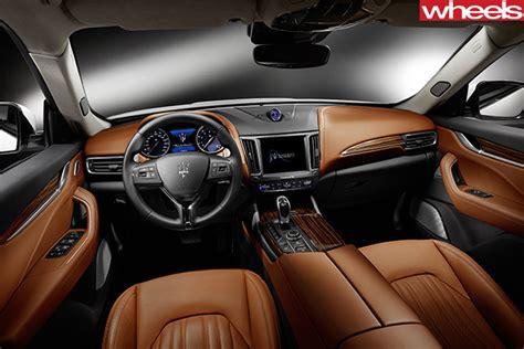 Maserati Interior Photos by 2016 Geneva Motor Show Maserati Levante Revealed
