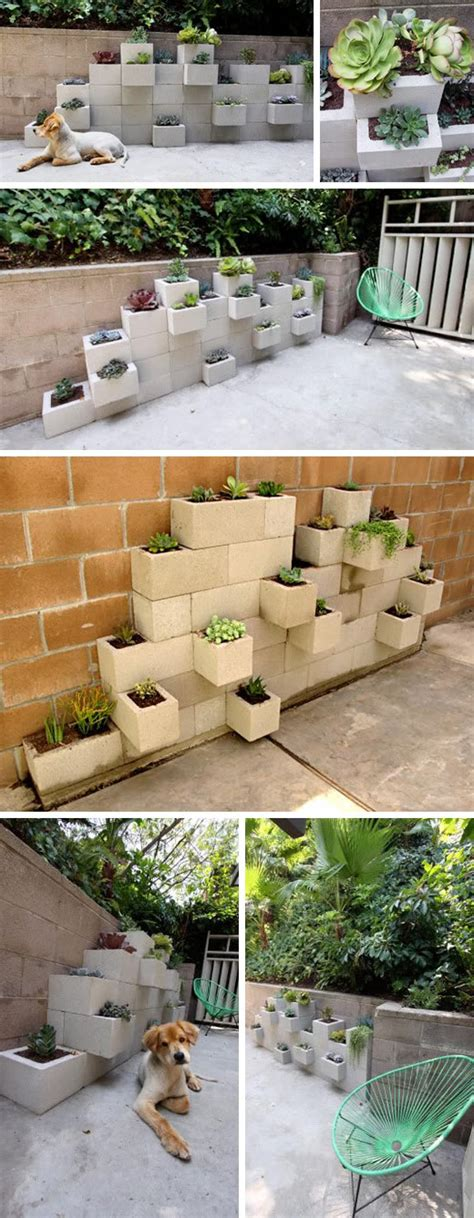 cinder block planter 10 unique ideas to decorate using cinder blocks find projects to do at home and arts