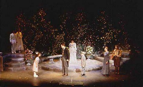 Garden Of Broadway M Strain Lighting Design The Secret Garden