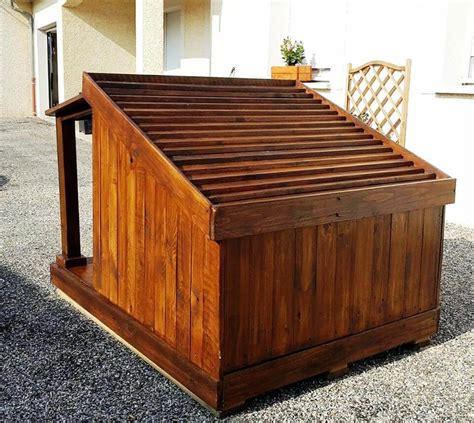 perfect dog house pallet dog house step by step plan diy crafts