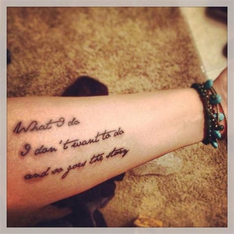 country music tattoos the gallery for gt country song quotes tattoos