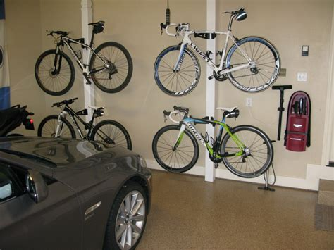Bike Storage Ideas Your Garage Bike Garage Modern Garage And Shed Other Metro By
