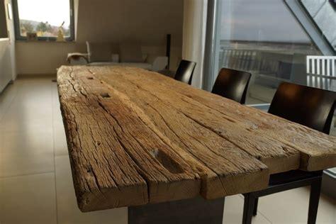 zwinz tisch altholz eiche massiv zapfenloch massivholz