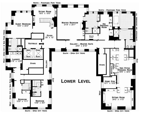 Foursquare Floor Plans by U Shaped Modern House Plans Vintage Modern House Design