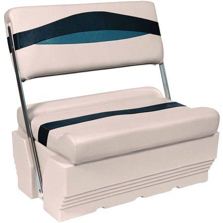 wise boat seat base wise premier series pontoon flip flop bench seat and base
