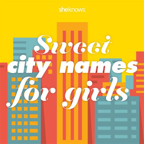 unique city names city baby names for girls