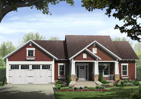 Craftsman Style Ranch House Plans by Leaf Craftsman Ranch Home Plan 077d 0213 House