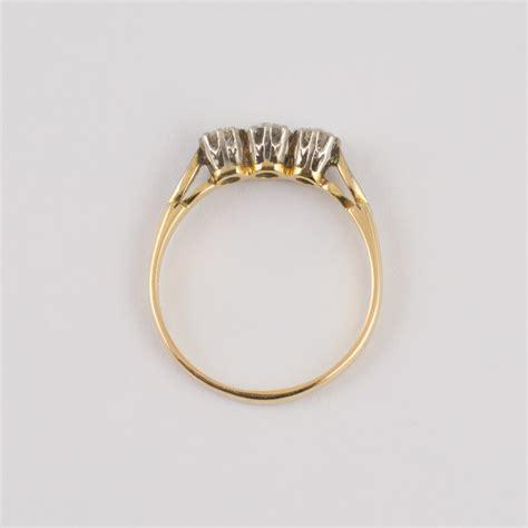 Sale Ring Plat Besi Ring Mut Diameter 2 5 Cm antiques atlas trilogy ring 18ct gold plat