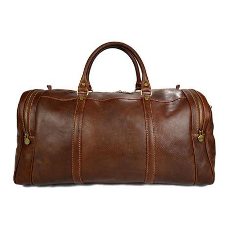 light travel bag mens leather duffle bag light brown shoulder bag travel