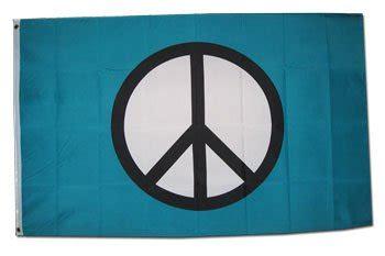 Pewarna Three Flags Brand Blue blue peace flag 3x5 brand new 3 x 5 foot banner your pretty garden
