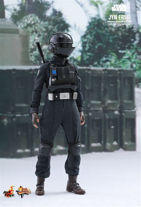 hot toys star wars rogue  jyn erso imperial disguise