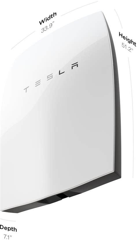 Tesla Battery Power Tesla Powerwall Debuts 3 000 Home Battery