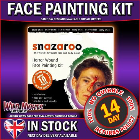 Snazaroo Paint Horror Wound Painting Kit