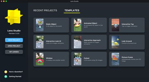 Lens Studio Templates Snapchat S First Desktop App Lens Studio Lets Anyone Create Ar Lenses Venturebeat