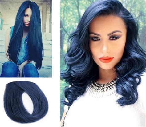 dye hair blue without midnight blue black hair color hairstylegalleries