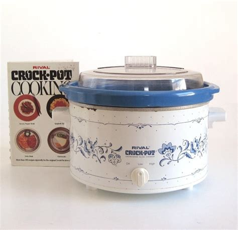 Rival Crock Pot by Rival Crock Pot 3154 3 4 Qt Crockpot Cooker 1990s Vintage