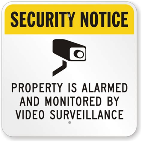 buy security signs security sistems
