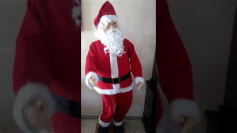 walmart singing and dancing santa claus my gemmy size santa claus walmart mexico singing in