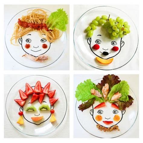 Arts And Crafts Ideas For Home Decor food face plate designs adventure in a box