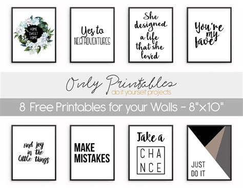 free printable wall art pictures only printables wall art