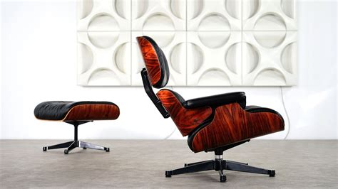 cool de legendarische eames lounge charles eames lounge chair ottoman by vitra