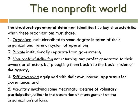 marketing for non profit organisations ppt