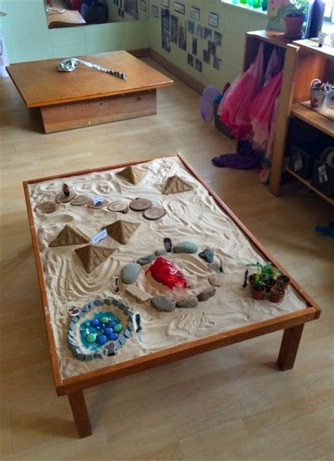 Sand Table Ideas Exles Of Ways To Make Rooms Feel Earthy And Grounded For Boulder Journey School