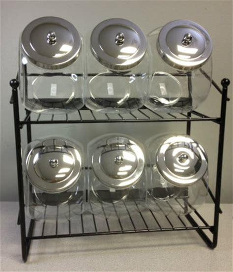 Jar Rack by 6 Jar Rack Counter Displays Racks