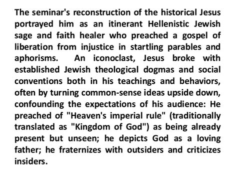 torah from heaven the reconstruction of faith littman library of civilization books 5 quest for the historical jesus