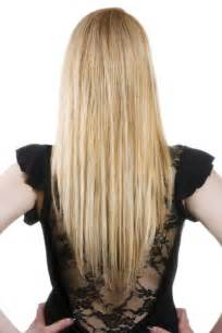 shape hair long hairstyles u shaped v shaped or straight across back