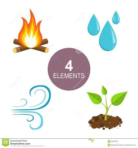 imagenes componentes naturales elementos naturales fuego agua aire y tierra