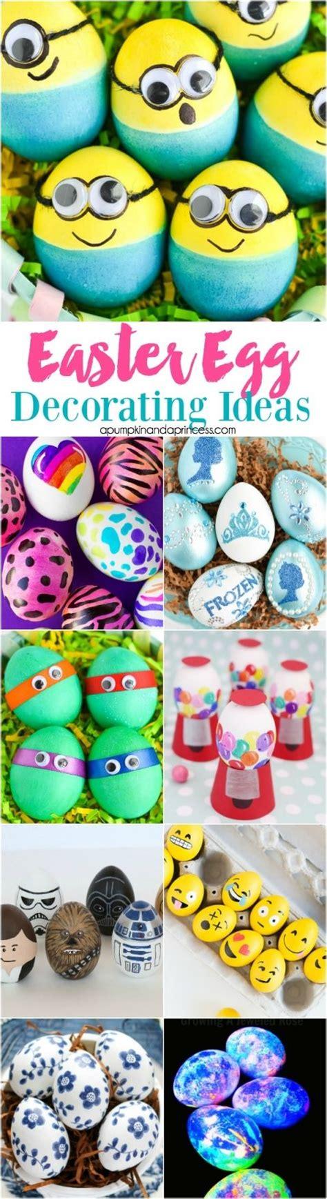 easter egg decorating pinterest easter egg decorating ideas 30 egg decorating ideas for