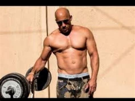 vin diesel bench press vin diesel workout 2017 fast and furious 8 youtube