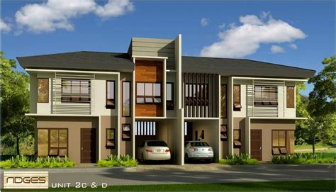 Home Plans Wrap Around Porch ridges house and lot for sale a luxury duplex in banawa