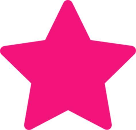 pink star pink star free images at clker com vector clip art
