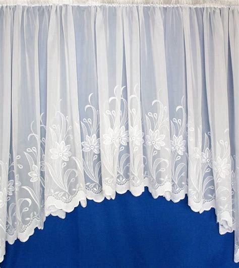 jardiniere curtains uk wexford white voile jardiniere net curtain 2 curtains