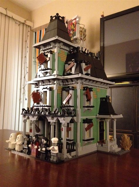 lego haunted house decorating for halloween nerd edition we date nerds