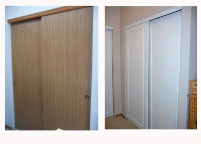 How To Update Sliding Closet Doors Remodelaholic Frugalicious Closet Door Makeover Monthly Contributor
